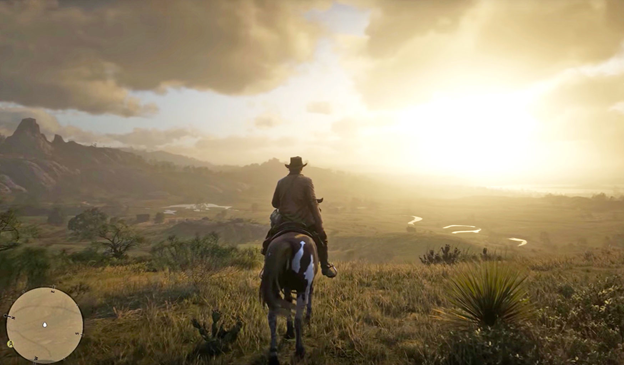 Red Dead 2 horse