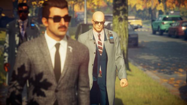 Hitman 2 suit