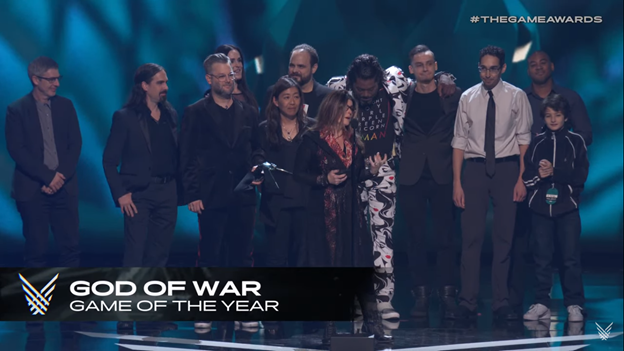 The Game Awards Kratos