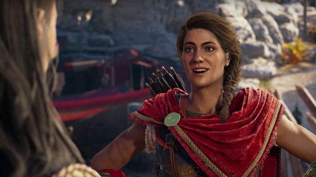 Assassin S Creed Odyssey Trusting The Female Protagonist