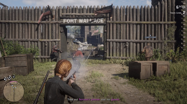 Red Dead Online Fort Wallace