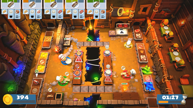 Top Games Overcooked 2