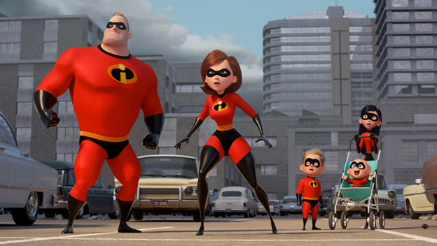 Top Films Incredibles