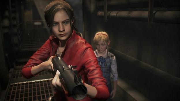 Resident Evil 2 child