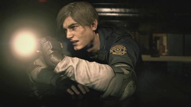 Resident Evil 2 flashlight