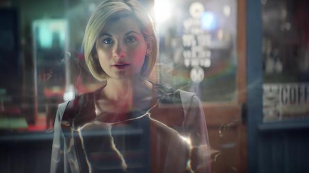 Doctor Who window