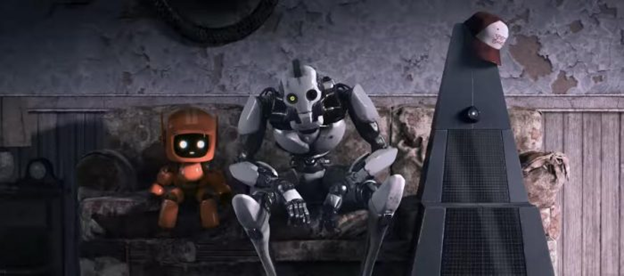 Love, Death & Robots couch