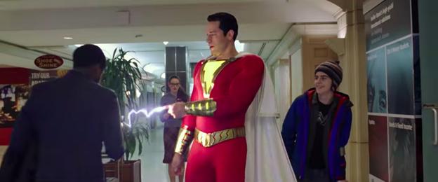 Shazam! phone charge