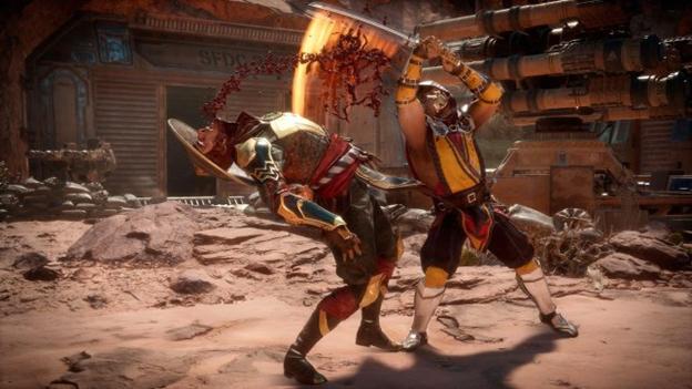 Mortal Kombat sword