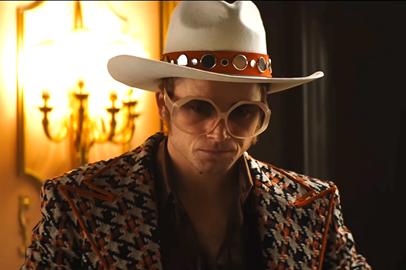 Rocketman cowboy hat