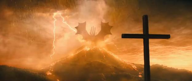 Godzilla: King of the Monsters cross