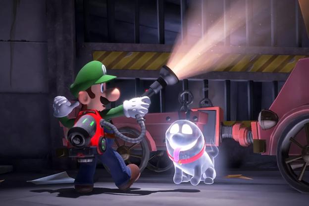 Nintendo Luigi's Mansion