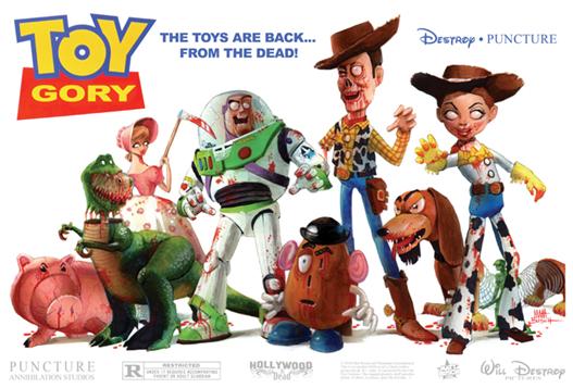 Toy Story 4 zombie