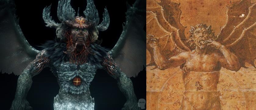 Dante's Inferno Satan