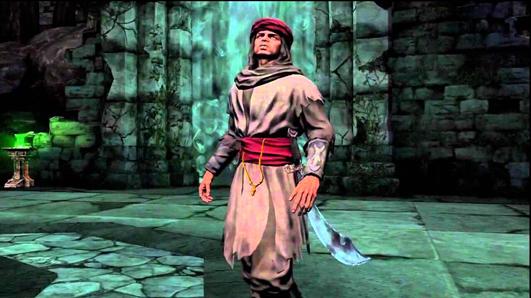 Dante's Inferno man