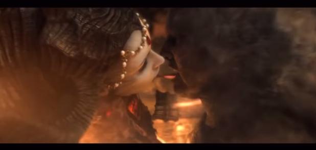 Inferno tongue kiss