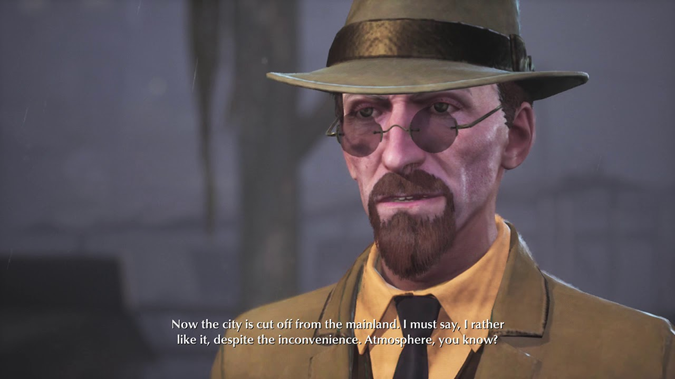 The Sinking City hat