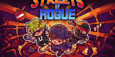 Streets of Rogue title card
