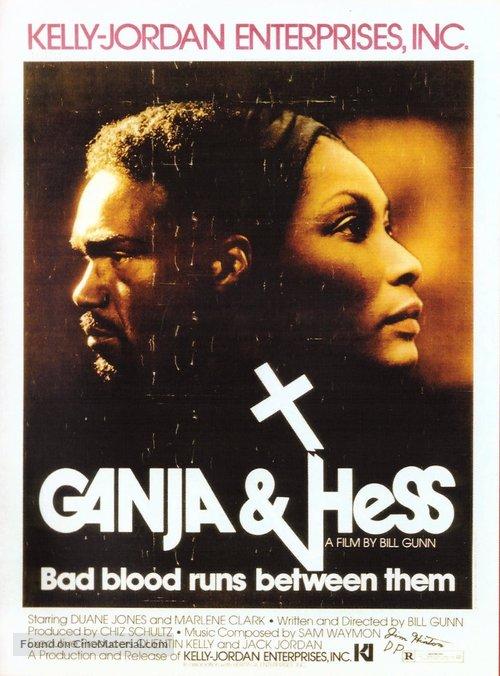 Ganja and Hess poster