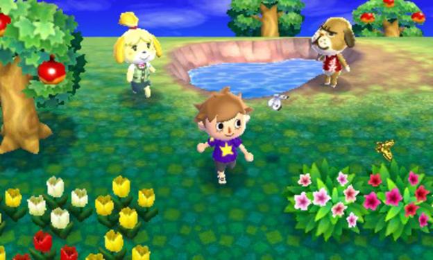 games Animal Crossing: New Leaf