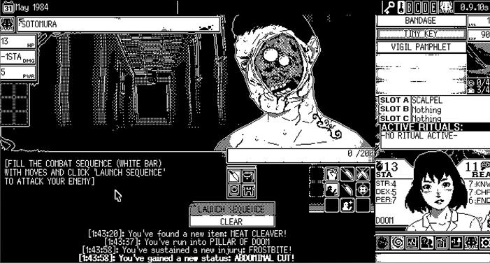 World of Horror bandage