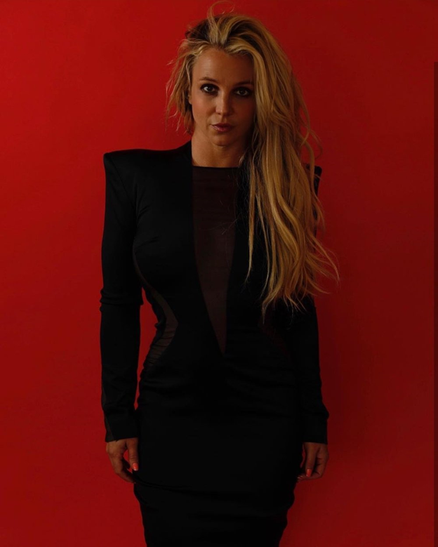 Britney Spears red