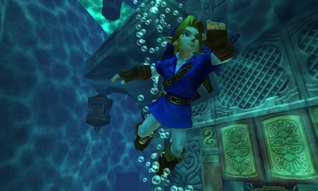 Ocarina of Time water