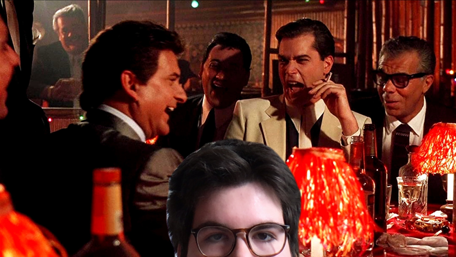 Kevin with Goodfellas Behind