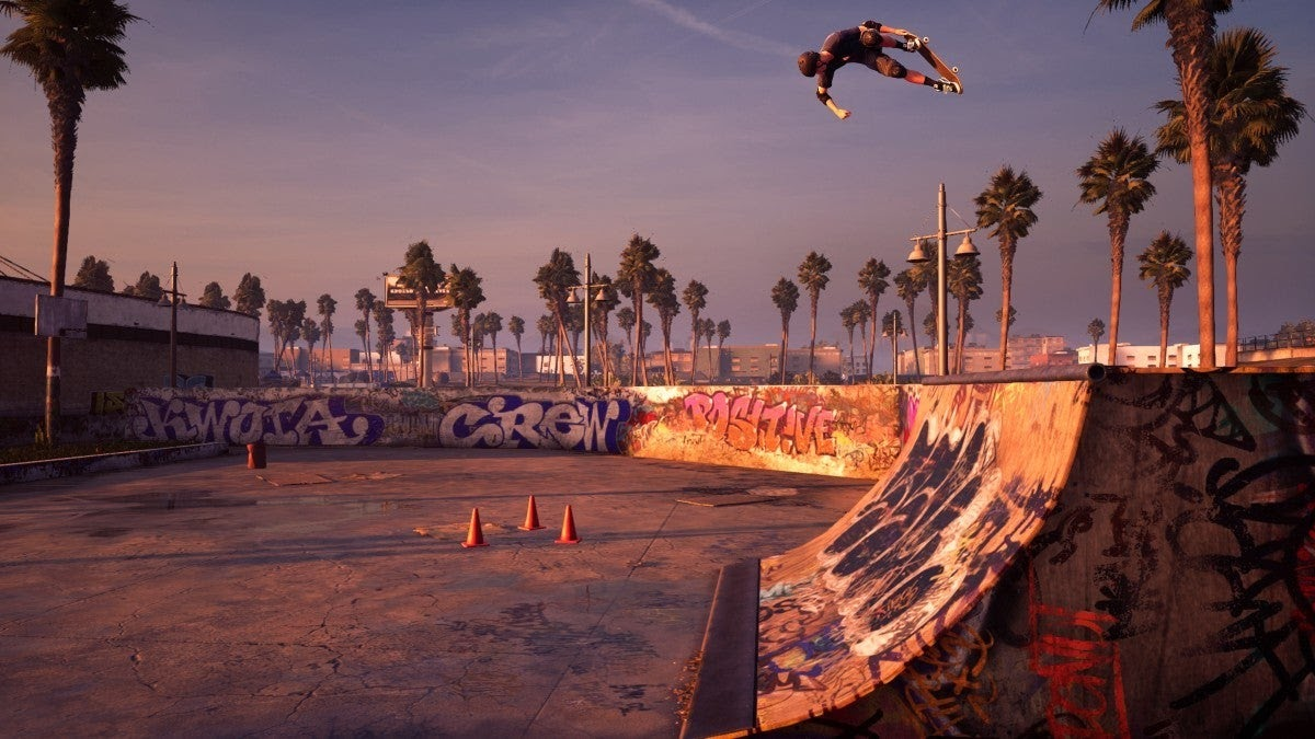 Tony Hawk Pro Skater 1 + 2 Screenshot