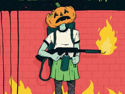 Teenage Halloween cover