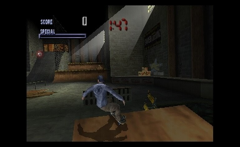 Tony Hawk Original game