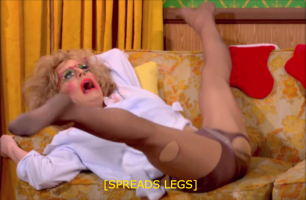 Katya leg spread