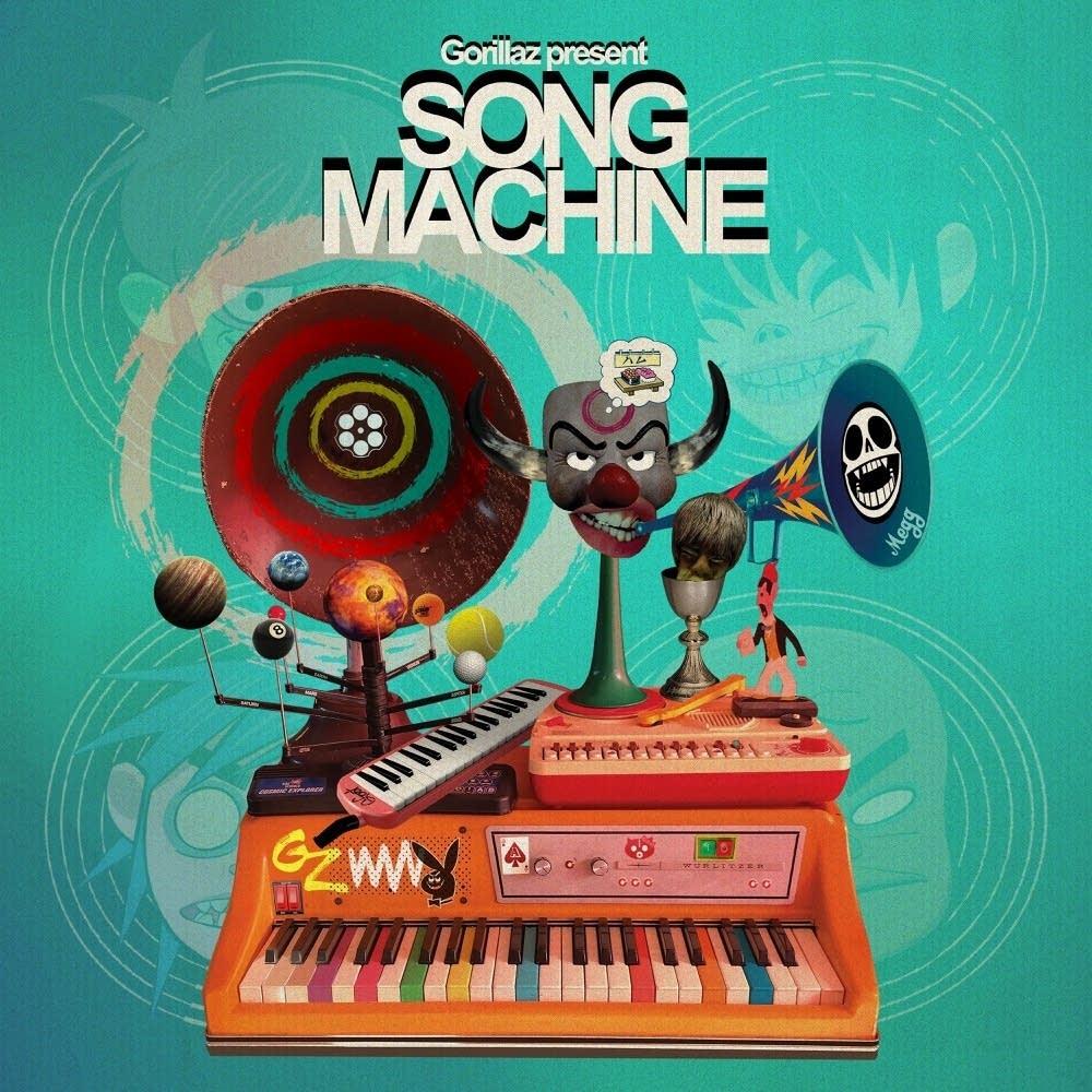 Song Machine Gorillaz