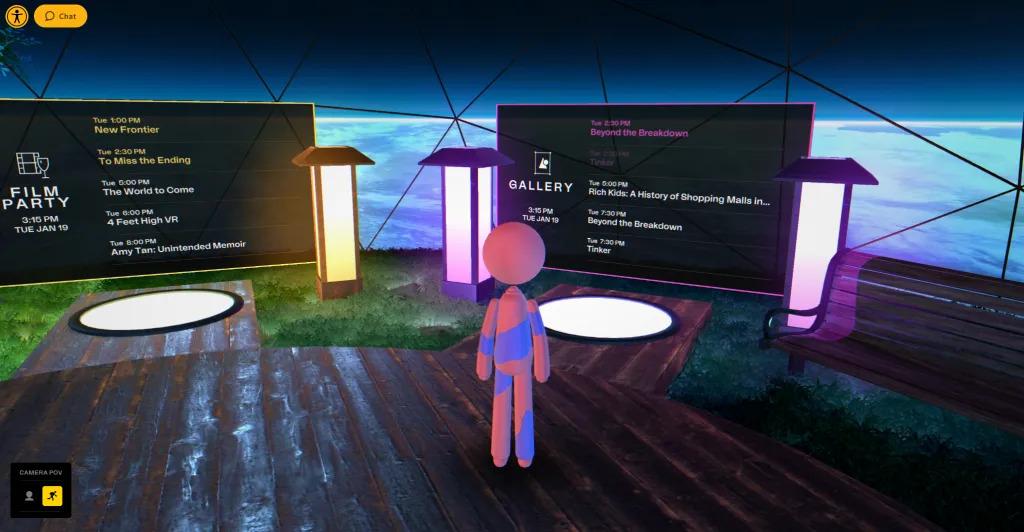 Sundance Virtual Meeting Area