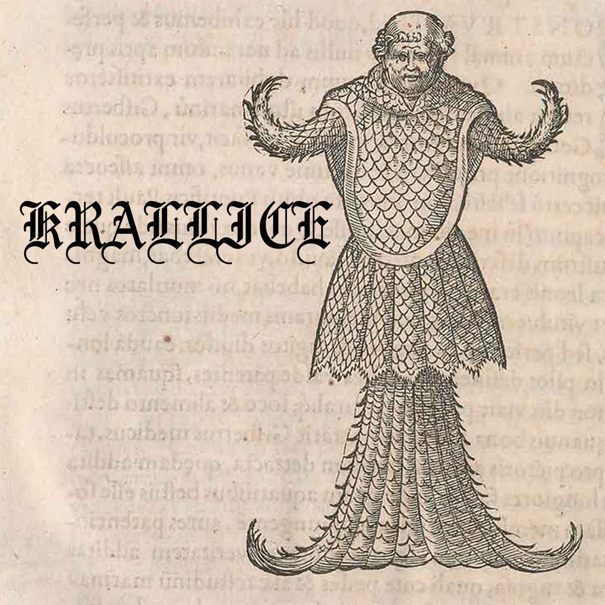 Krallice's DEMONIC WEALTH cover