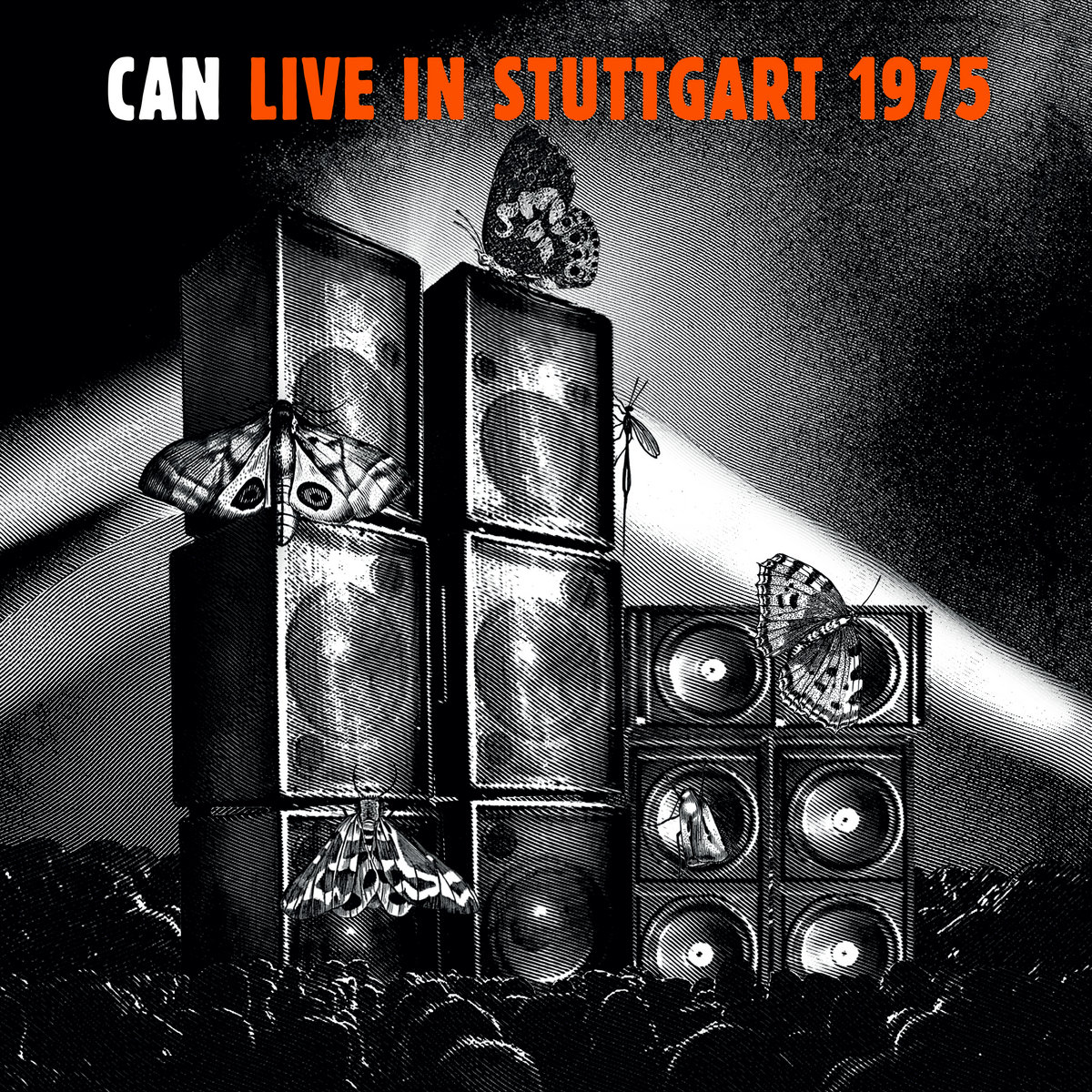 CAN - LIVE IN STUTTGART 1975 Cover