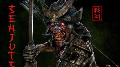 Iron Maiden New Album Cover
